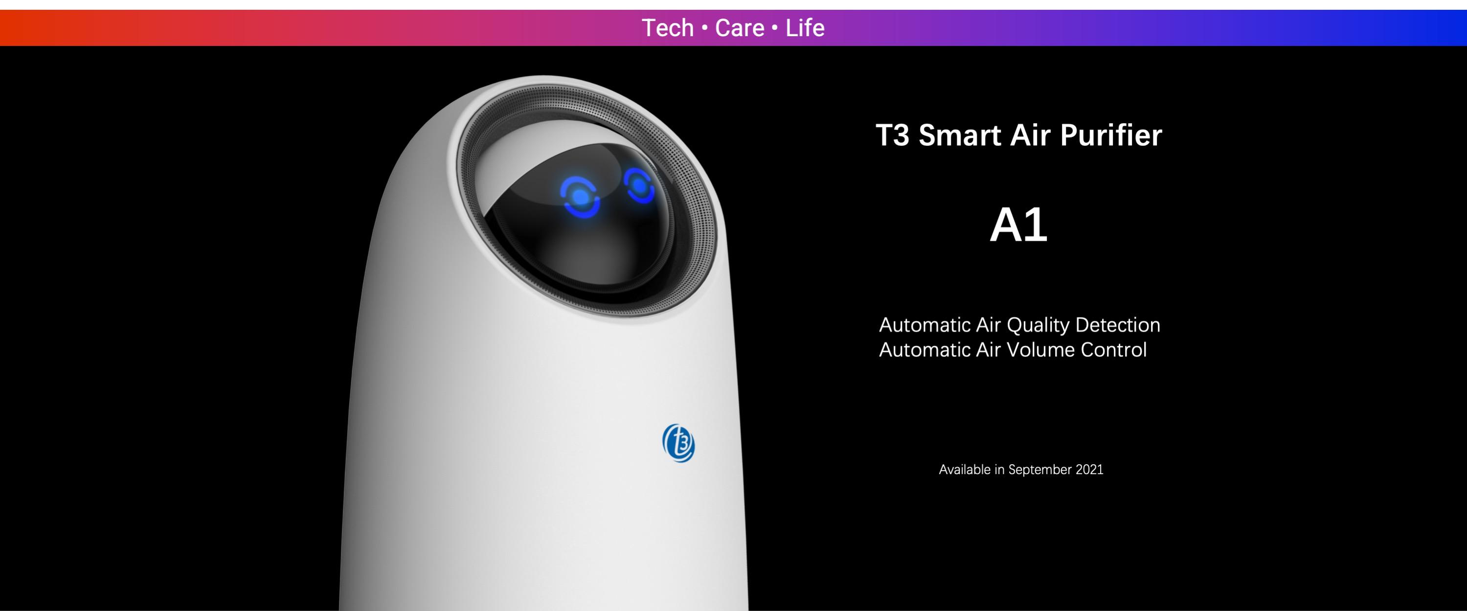 T3 Smart Air Purifier A1